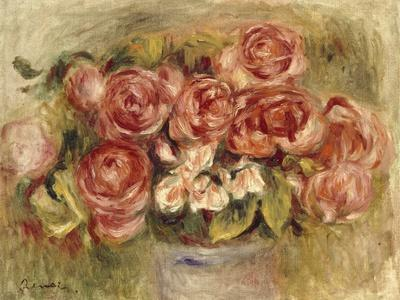 Still Life of Roses in a Vase, 1880s and 1890s