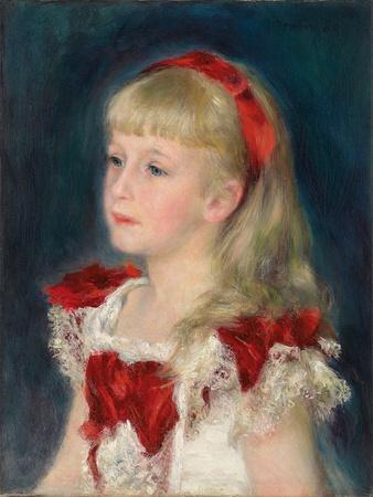 Mademoiselle Grimprel with a Red Ribbon, 1880
