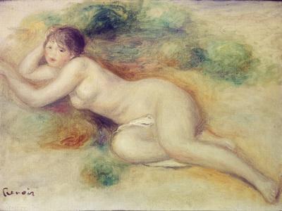 Nude Figure of a Girl, 1880-89