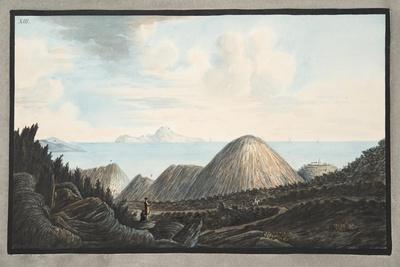 View of the Present State of the Little Mountain Raised by the Explosion in the Year 1760