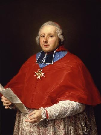 Etienne-René, Cardinal Potier De Gesvres, 1758