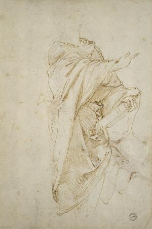 Study for the Figure Virgil