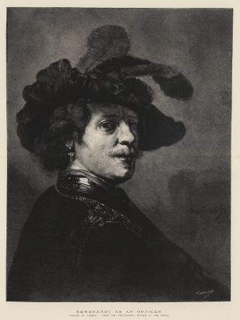 Rembrandt as an Officer