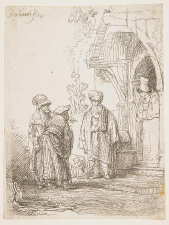 Jacob and Laban, 1641