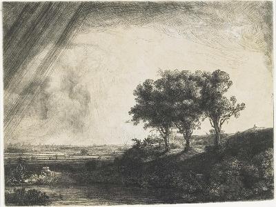 The Three Trees, 1643