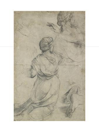 Studies for Two Kneeling Women