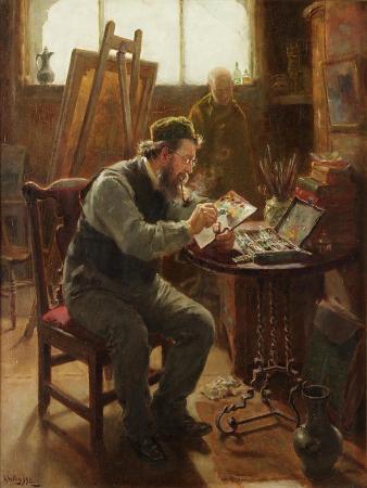 Portrait of Stephen Brownlow, 1892