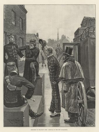 Sketches of Military Life, Arrival of the New Subaltern
