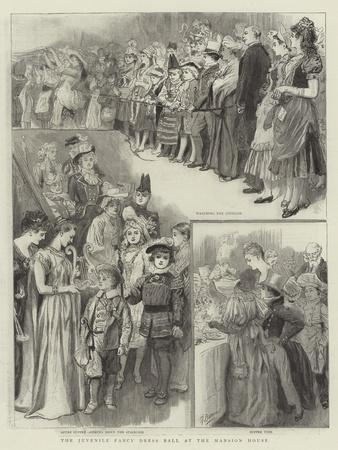 The Juvenile Fancy Dress Ball at the Mansion House
