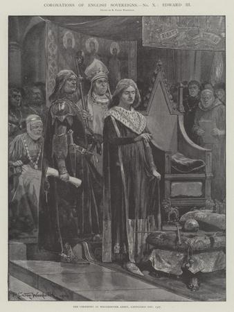 Coronations of English Sovereigns, Edward Iii