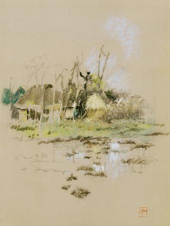 Japanese Huts, C.1891