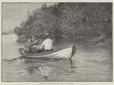 Deer-Shooting on a New York Lake