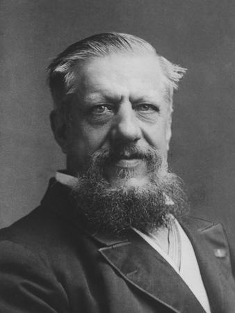 Portrait of Sir Edwin Arnold