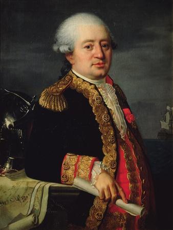 Portrait of the Comte De La Couldre De La Bretonniere