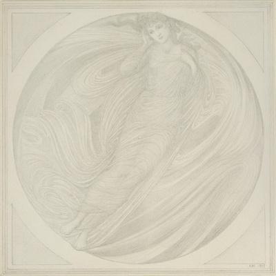 Eurydice Floating Among Flames, 1872-75