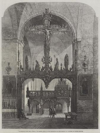 Interior of the Dom, Lubeck