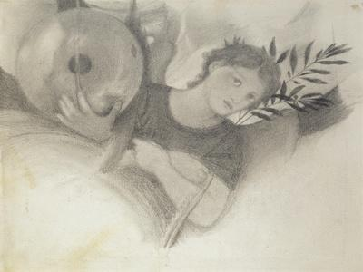 Study for a Head in The Days of Creation, C. 1871 - 1875