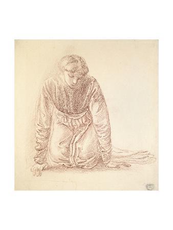 Kneeling Figure of a Woman