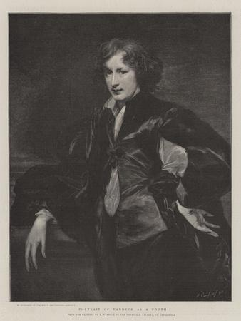 Portrait of Vandyck as a Youth