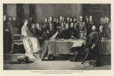The First Council of Her Majesty the Queen, Kensington Palace, 20 June 1837