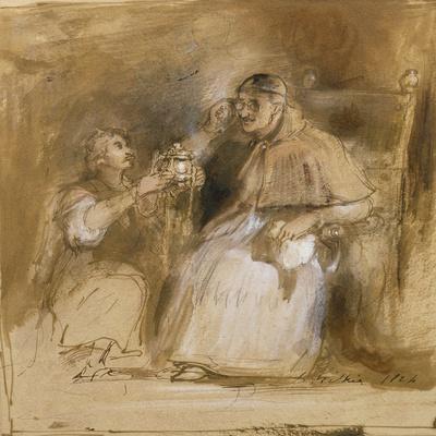 Benvenuto Cellini (1500-71) and Pope Paul II (1468-1579)