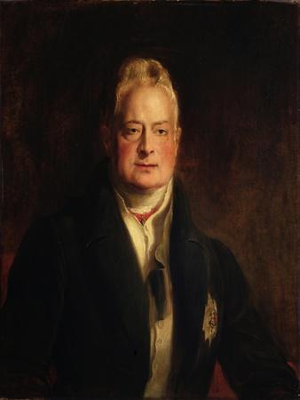 Portrait of King William IV (1765-1837) 1837