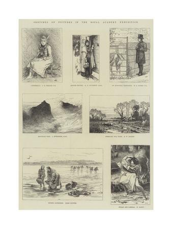 Sketches of Pictures in the Royal Academy Exhibition