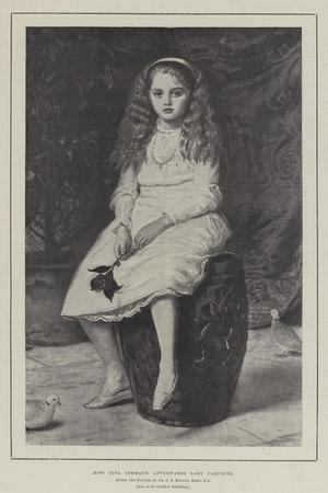 Miss Nina Lehmann, Afterwards Lady Campbell