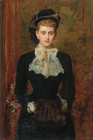 Countess De Pourtales, the Former Mrs, 1876
