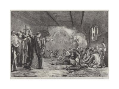 The Conspirators in the Private Apartments of Thomas A'Becket Shortly before His Murder