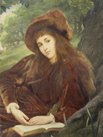 Portrait of Anna Maria 'Nettie' Jameson, Nee Davies