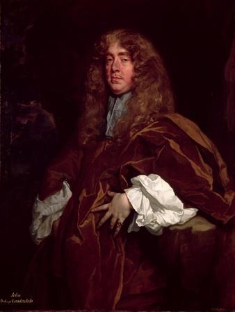 Portrait of John Maitland, 1st Duke of Lauderdale (1616-82) C.1665