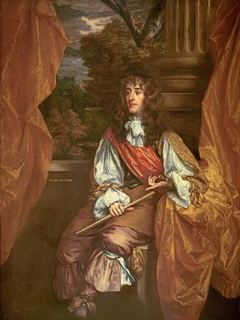 James VII of Scotland (James II of England) as Duke of York