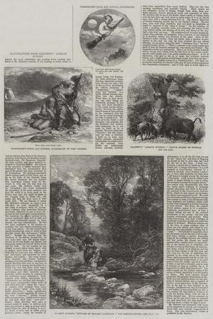 Illustrations from Baldwin's African Hunting