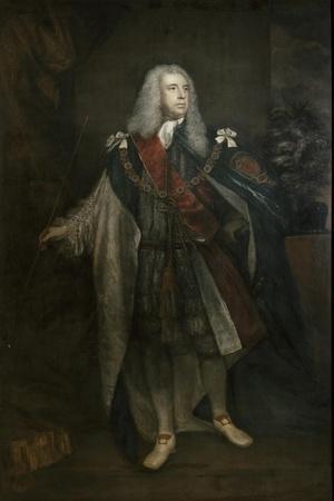 Portrait of Charles Fitzroy, 2nd Duke of Grafton, 1755-57