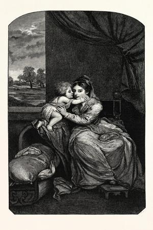 Lady Melbourne and Child