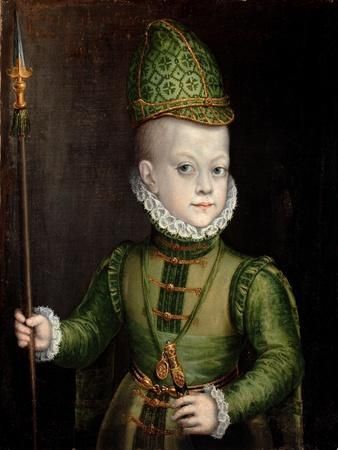 Portrait of a Boy at the Spanish Court, C.1565-70
