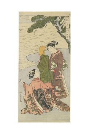 Autumn Moonlight of Matsukaze, C. 1767