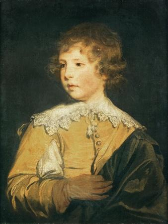 The Hon. George Seymour Conway in Van Dyck Costume