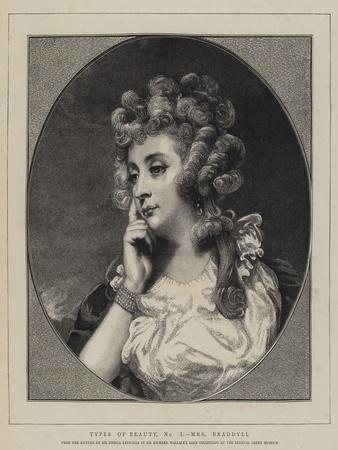 Types of Beauty, No I, Mrs Braddyll
