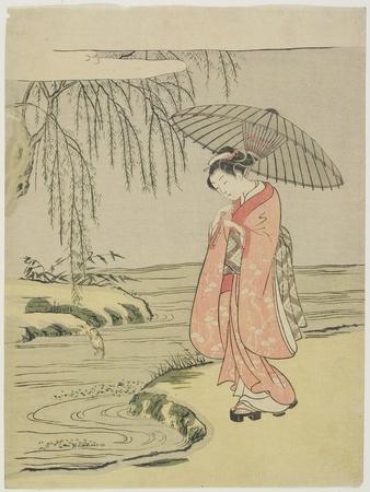 Mitate of the Calligrapher Ono No Tofu, after 1765