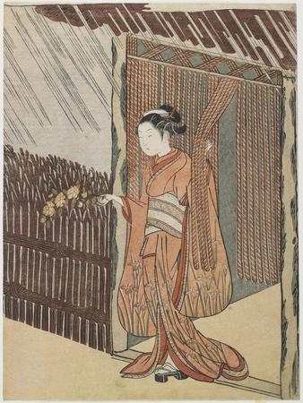 Mitate of the Poet O Ta Do Kan, 1766-1767