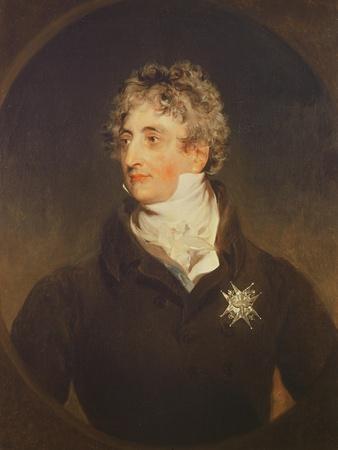 Portrait of Duke Armand-Emmanuel De Richelieu (1766-1822) 1822