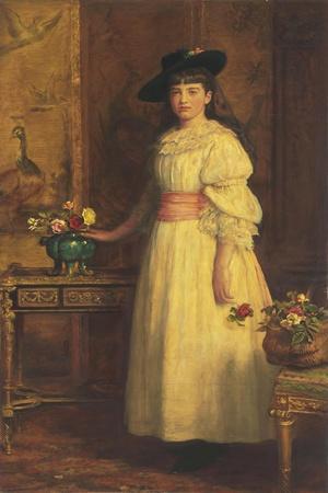 Miss Gertrude Vanderbilt, 1888