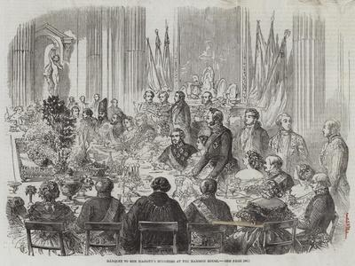 Banquet to Her Majesty's Ministers at the Mansion House
