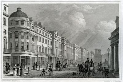 Regent Street, London, from the Quadrant