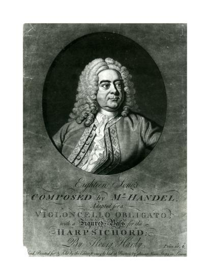 Eighteen Songs Composed by Handel Adapted for a Violioncello Obligato with  Harpsichord by Henry Har
