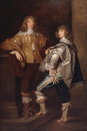 Lords John and Bernard Stuart, after Anthony Van Dyck, C.1760-70