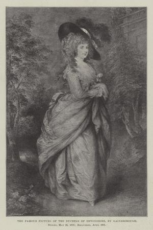 The Famous Picture of the Duchess of Devonshire