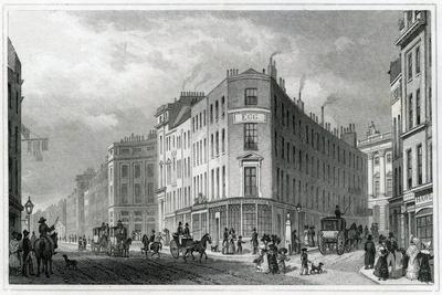 Piccadilly, from Coventry Street, 1830